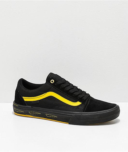 Vans Old Skool Pro Edgar Black \u0026 Yellow