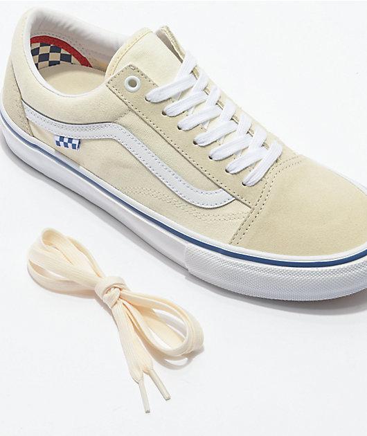 Vans Old Skool Skate Off-White zapatos de skate