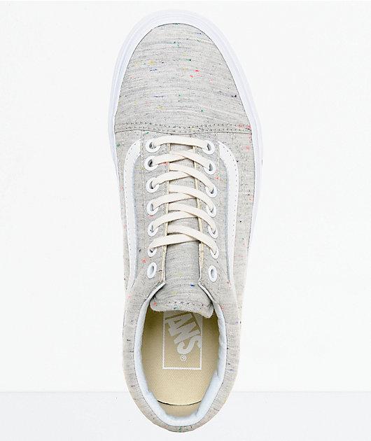 Vans Old Skool Speckle Jersey Grey
