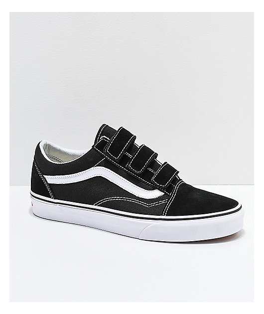 Vans Old Skool Strap Black \u0026 White