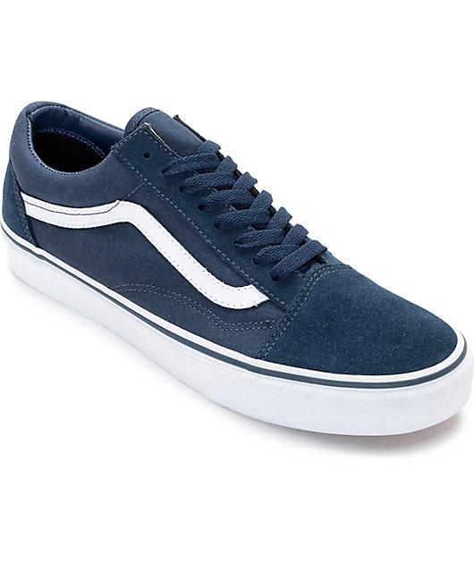 Vans Old Skool Teal \u0026 True White Skate