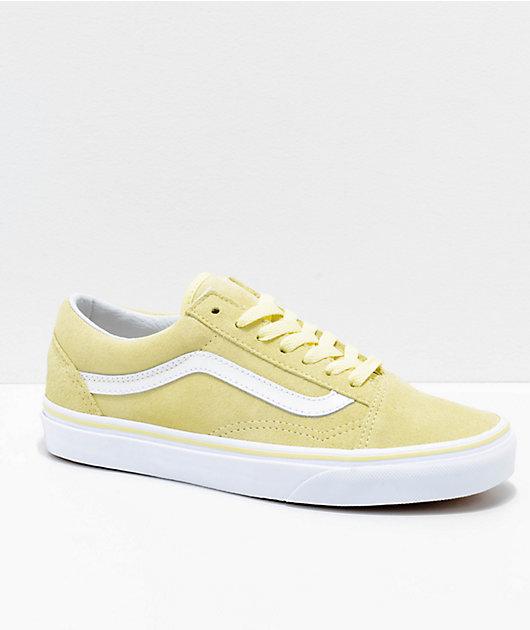 Vans Old Skool Tender Yellow \u0026 White