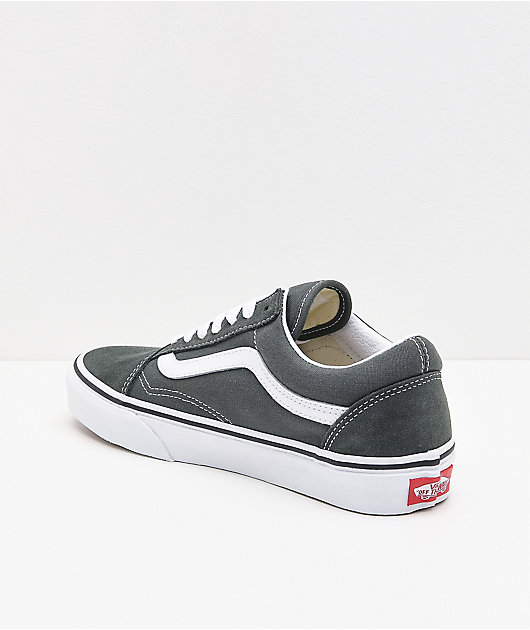 Vans Old Skool Thyme & White Skate Shoes