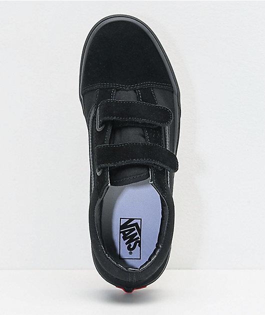 Vans Old Skool V Black Skate Shoes