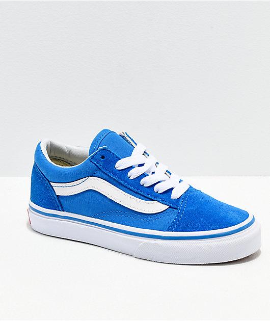 Vans Old Skool zapatos índigo y blanco
