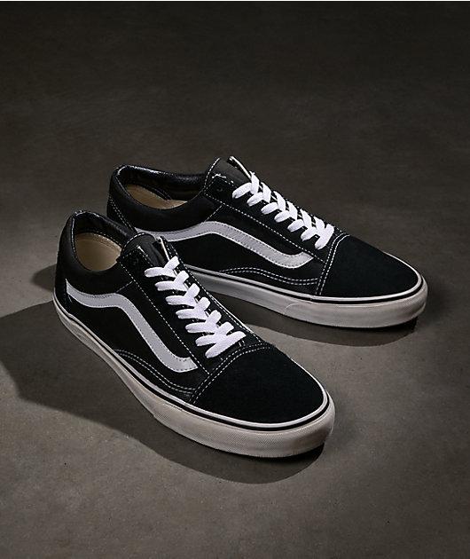 Vans Old Skool zapatos de skate negros y blancos