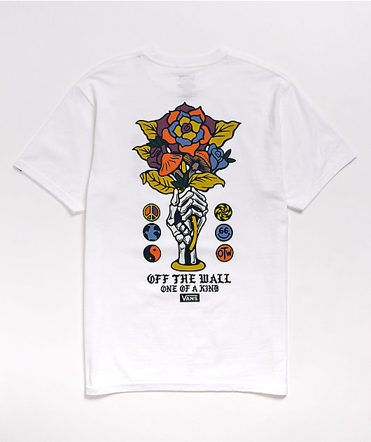 Vans One Of A Kind White T-Shirt