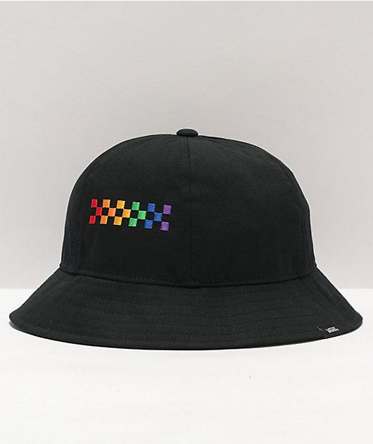 Vans Pride Black Bell Bucket Hat