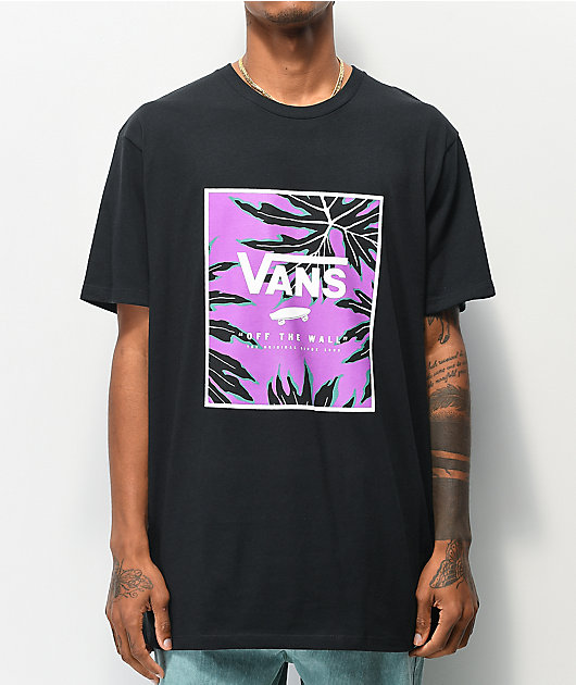 Vans Print Box Black T-Shirt