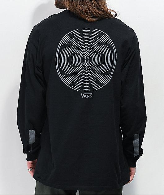 Vans Pro Skate Reflective Black Long Sleeve T-Shirt