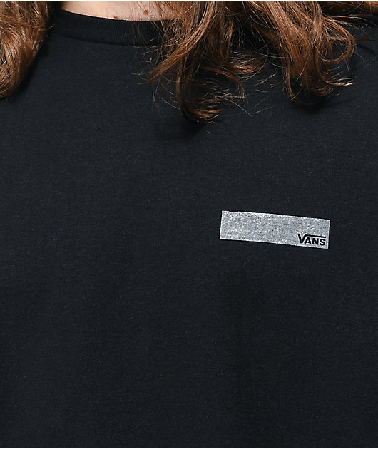 Vans Pro Skate camiseta negra de manga larga reflectante