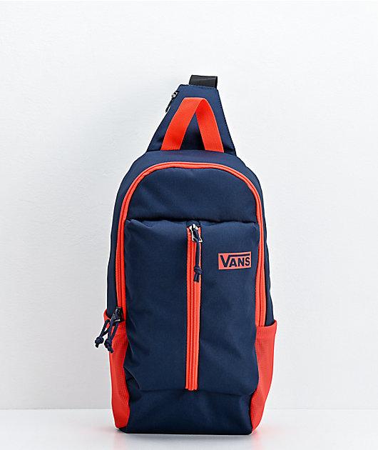 Vans Pro Stitched Navy & Red Crossbody Bag