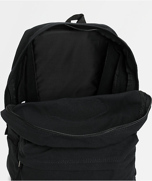 Vans Realm Black Canvas Backpack