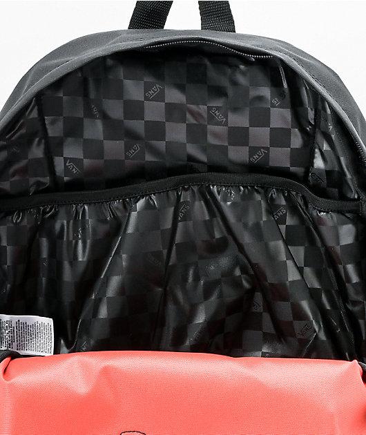Vans Realm Paprika & Checkerboard Backpack
