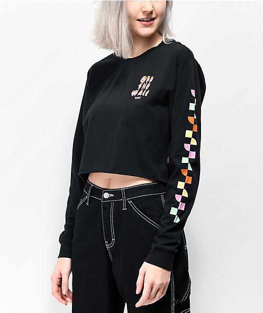 Vans Reign Maker camiseta corta negra de manga larga