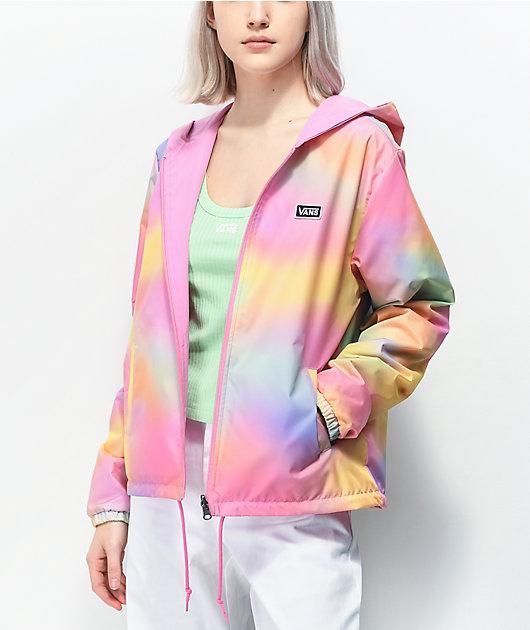 Vans Reverse Out chaqueta cortavientos reversible de tie dye
