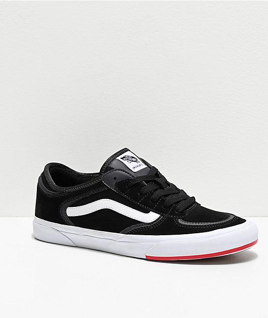 Vans Rowley Classic Black, White \u0026 Red