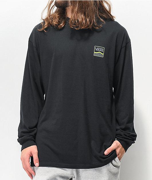 Vans Royce camiseta negra de manga larga