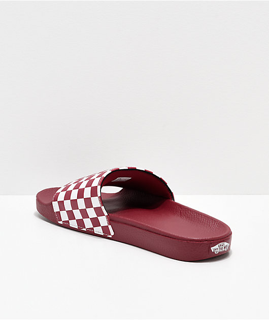 Vans Rumba Red \u0026 White Checkerboard