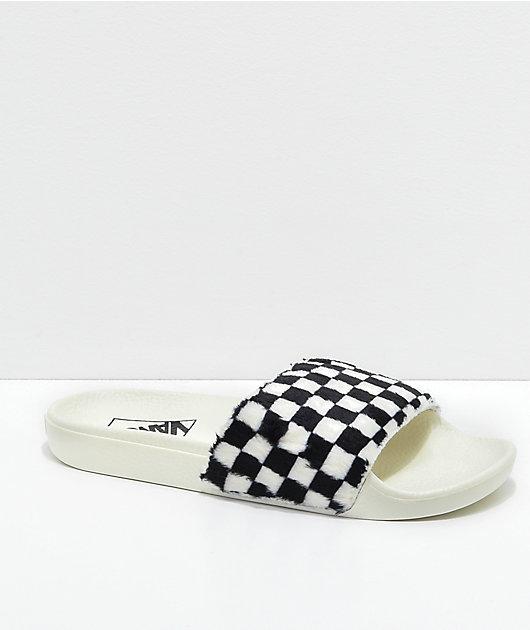 Vans Sherpa Checkerboard Slide-On