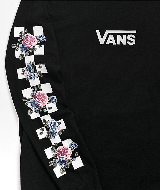 Vans Shmeegle Black Long Sleeve T-Shirt