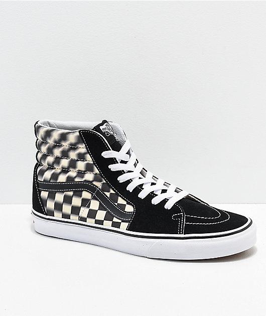 Vans Sk8-Hi Blur Black \u0026 White