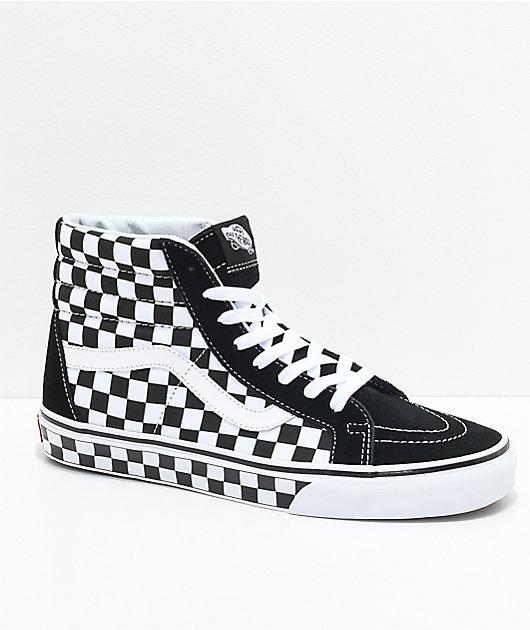 Vans Sk8-Hi Checkered Black \u0026 True