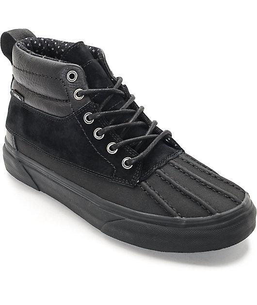 Vans Sk8-Hi Del Pato Black \u0026 Black