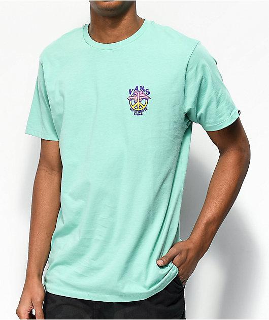 Vans Sk8-Hi Forever camiseta de color jade