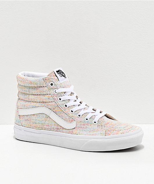 Vans Sk8-Hi Jersey Rainbow Skate Shoes