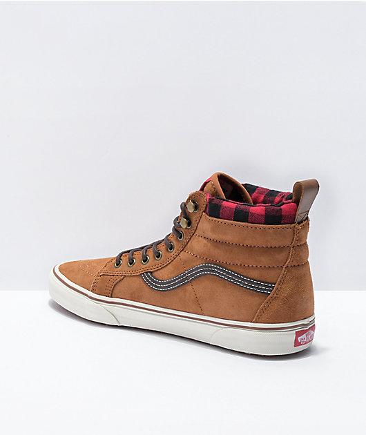 Vans Sk8-Hi MTE Glazed Ginger & Marshmallow Shoes