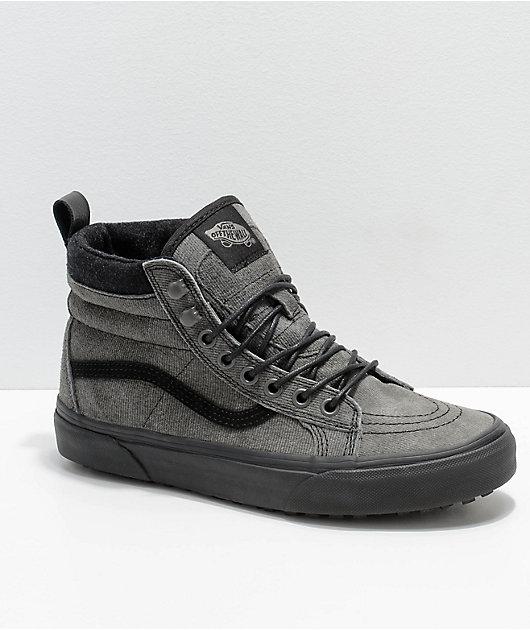 Vans Sk8-Hi MTE Grey \u0026 Black Denim