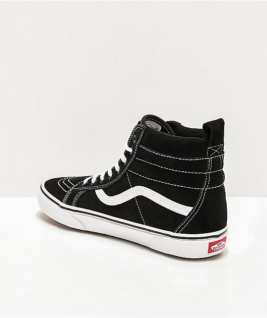 Vans Sk8-Hi MTE zapatos de skate  negros y blancos