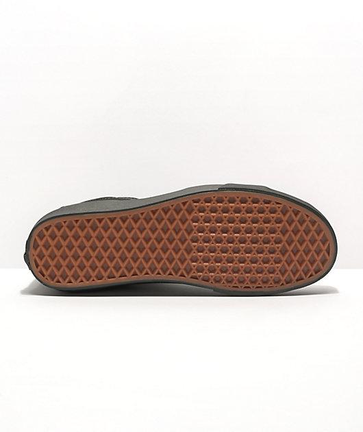 Vans Sk8-Hi Mono Black Skate Shoes