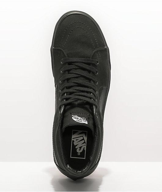 Vans Sk8 Hi zapatos de skate en negro (hombre)