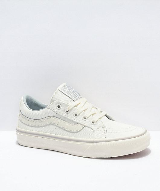 Vans Sk8-Low SF Reissue Leila White Skate Shoes
