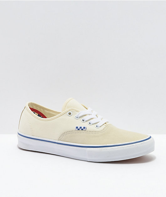 Vans Skate Authentic Off-White Skate Shoes