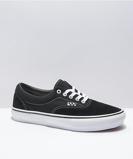 Vans Skate Era Black & White Skate Shoes