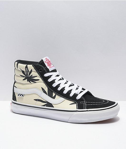 Vans Skate Grosso Sk8-Hi Palms Black Skate Shoes
