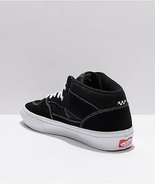 Vans Skate Half Cab Black & White Skate Shoes