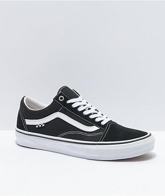 Vans Skate Old Skool Black & White Skate Shoes