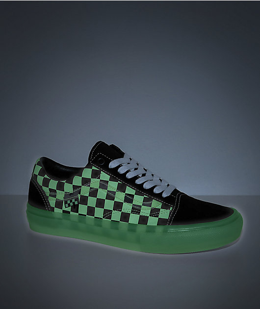 Vans Skate Old Skool Glow-In-The-Dark Skate Shoes