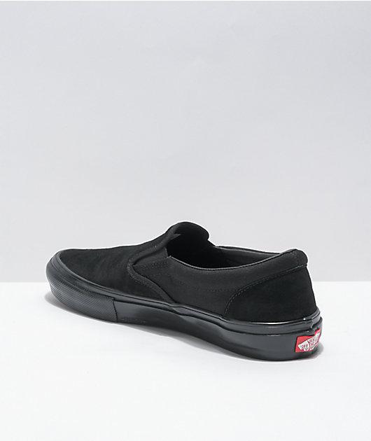 Vans Skate Slip-On Black Skate Shoes