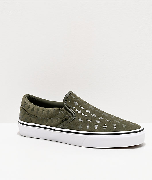 Vans Slip-On Area 66 Grape Leaf zapatos de skate