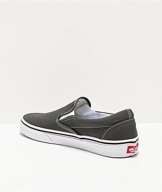Vans Slip-On Charcoal Skate Shoes