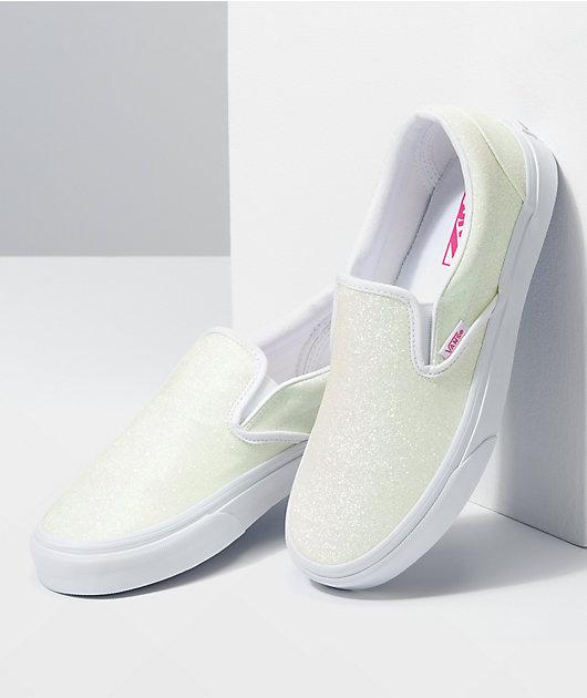 Vans Slip-On Classic UV Glitter Skate Shoes