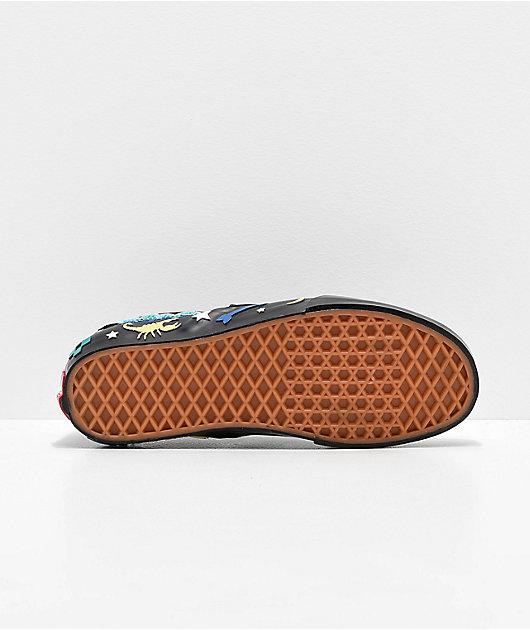 Vans Slip-On Desert Embellish Black Skate Shoes