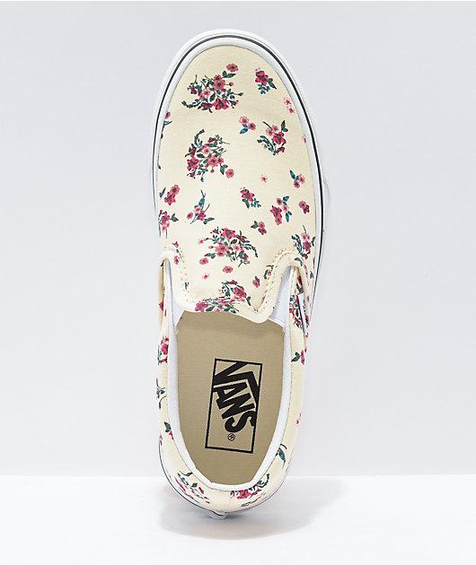 Vans Slip-On Ditsy Floral Skate Shoes