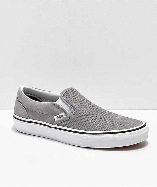 suede gray vans