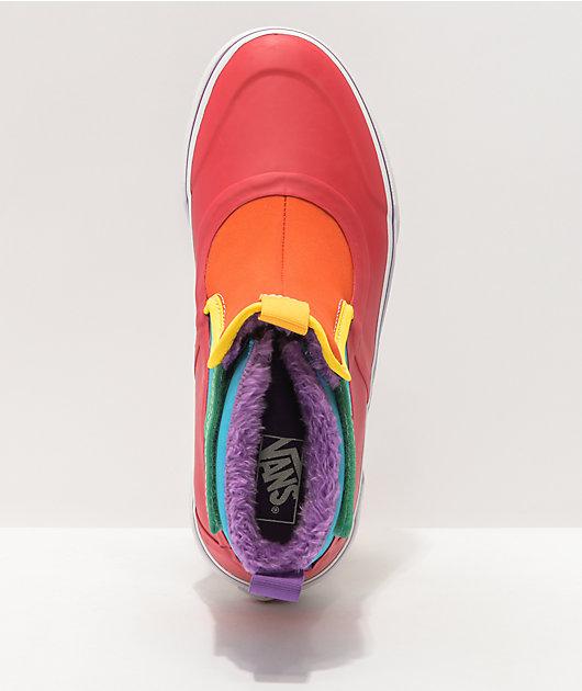 Vans Slip-On Hi Terrain V MTE Rainbow Shoe